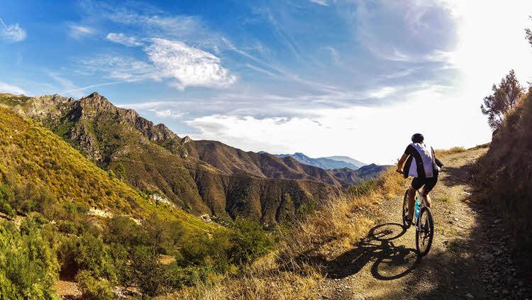 Guided cycling holidays near Malaga