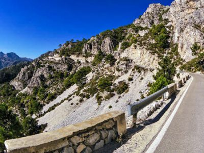 Road cycling in La Herradura, Andalucía south Spain