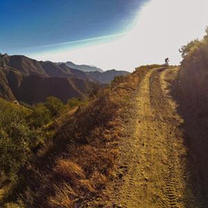 Mountain bike in La Herradura, Andalucía south Spain