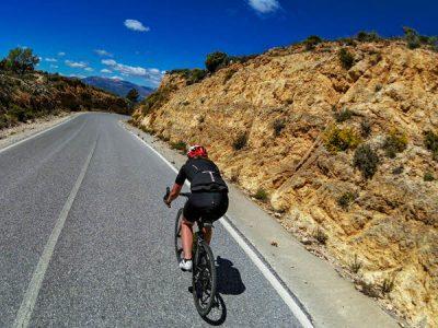 Road bike in Nerja, Andalucía south Spain