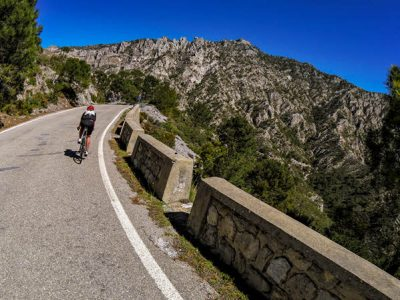 Road bike in Granada area, Andalucía southern Spain