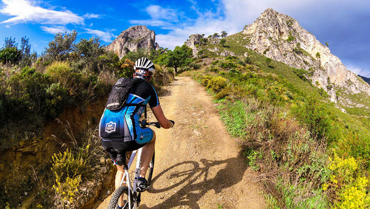 Guided daytrips mountainbike La Herradura