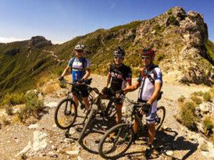 Mountain biking in Almuñécar, Costa Tropical south of Spain