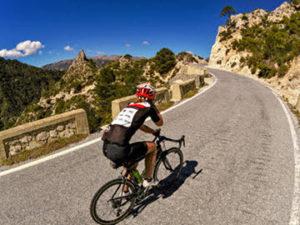 Road cycling south Spain Malaga area