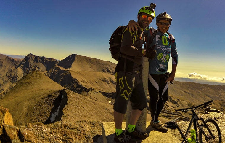 Mountain bike Sierra Nevada Pico de Veleta